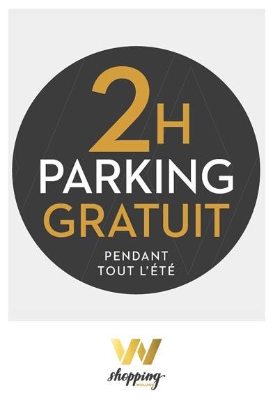 2h parking gratuit