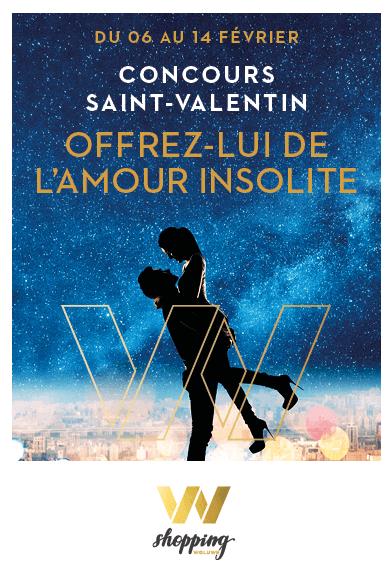 """Concours Saint-Valentin : 5×1 Bongo """"Week-end insolite"""""""